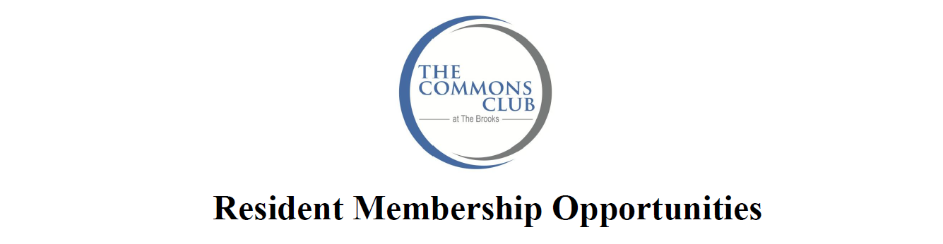 Commons Club At The Brooks Membership