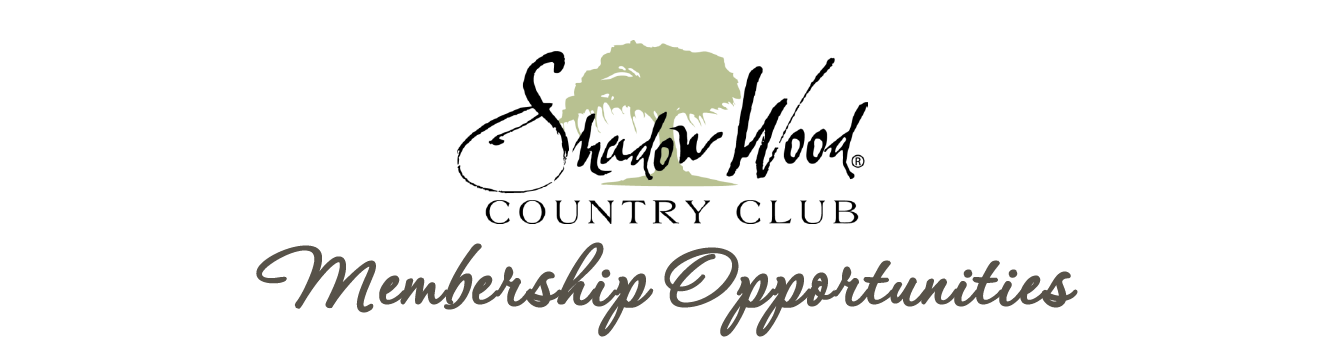 Shadow Wood At The Brooks Membership